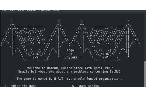 About me and my life ...: Fedora: telnet game - BatMUD.