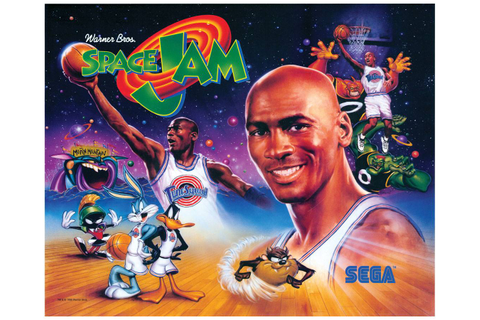 Translite for Space Jam | Space Jam | Pinball Parts by ...
