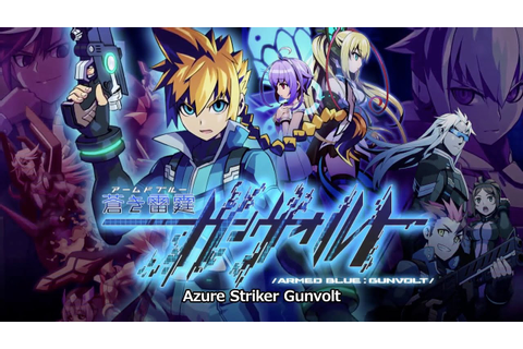 Azure Striker Gunvolt Wallpaper HD Game 2014