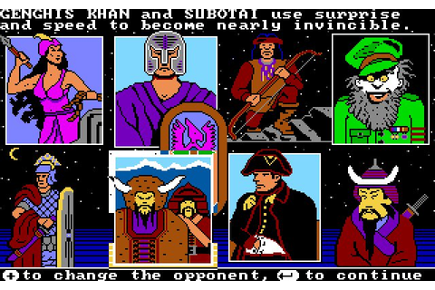 Download The Ancient Art of War strategy for DOS (1984 ...