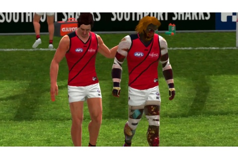 AFL EVOLUTION PRO MODE EP 1 / INJURED FIRST GAME ...