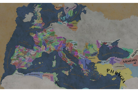 Imperator:Rome Map : MapPorn