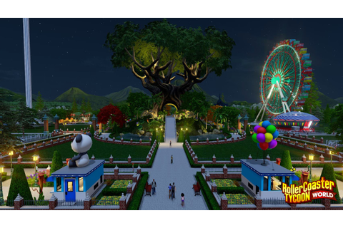 RollerCoaster Tycoon World PC Game Full Version Free Download