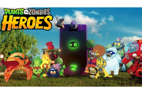 Plants vs. Zombies Heroes, A Mobile Collectible Card-Based ...