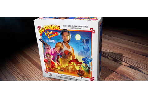 Watch: Big Trouble in Little China Board Game Trailer