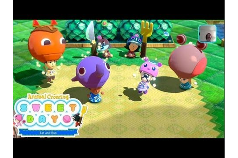 Nintendo Land Tour: Animal Crossing Sweet Day (Co-Op ...