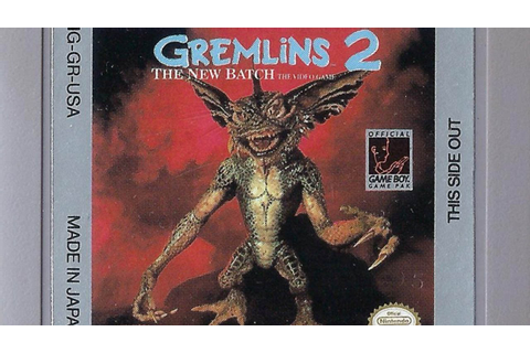 CGR Undertow - GREMLINS 2: THE NEW BATCH review Game Boy ...
