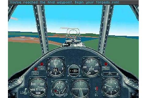 Aces of the Pacific (Sierra\Dynamix) - PC Game 1992 - YouTube