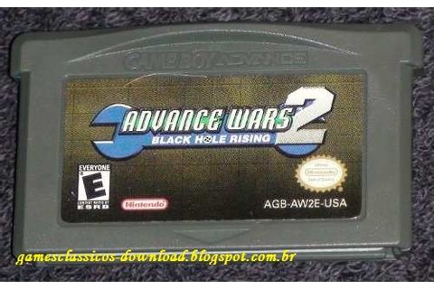 GAMES CLÁSSICOS: Advance Wars 1 e 2 Rom Download