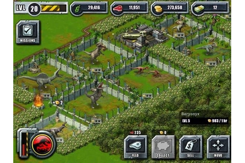Game Review: Jurassic Park Builder (Mobile - Free to Play ...