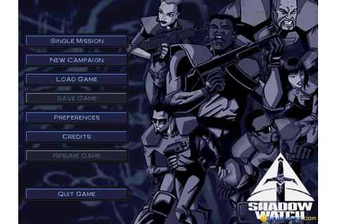 Shadow Watch gameplay (PC Game, 2000) - YouTube