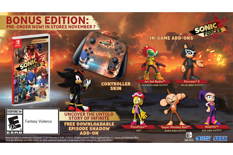Sonic Forces - Bonus Edition [Xbox One] • World of Games
