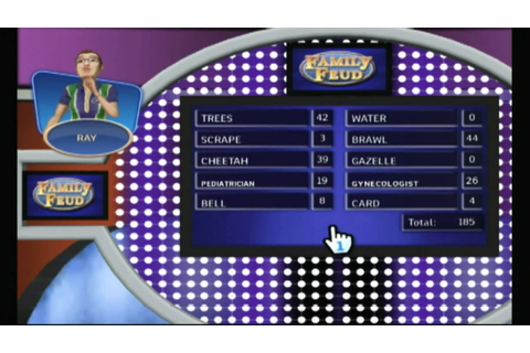 CGR Undertow - FAMILY FEUD 2010 for Nintendo Wii Video ...