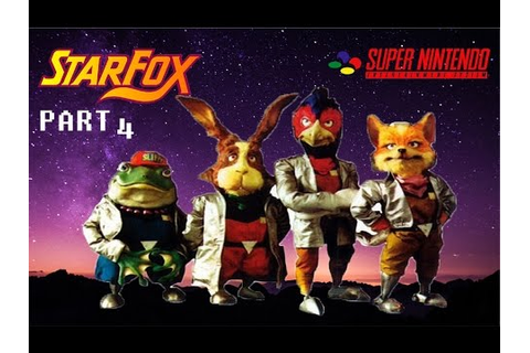 SNES 1993 Star Fox (Star Wing) Gameplay Walkthrough - No ...