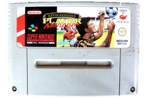 Buy Kevin Keegan's Player Manager SNES Australia