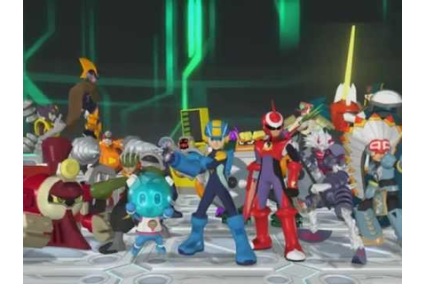 Rockman EXE Battle Chip Stadium OP - YouTube