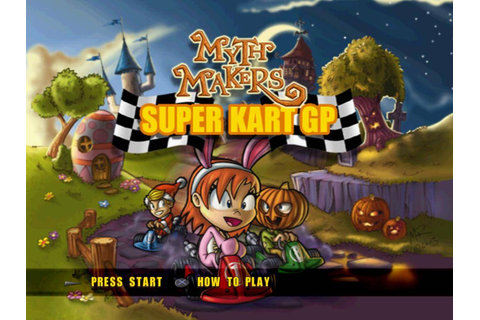 Myth Makers Super Kart GP (Europe) ISO