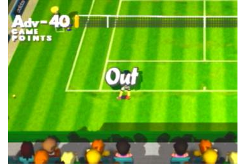 Screens: Anna Kournikova's Smash Court Tennis ...