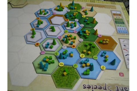 Hiew's Boardgame Blog: Dominant Species