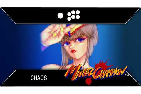 Martial Champion: Chaos Arcade Playthrough - YouTube
