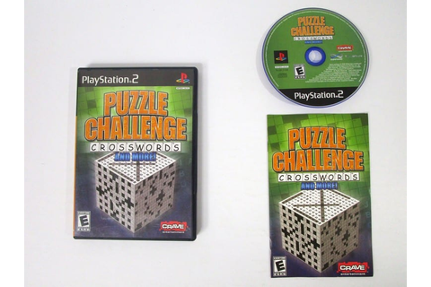 Puzzle Challenge Crosswords and More game for Playstation ...