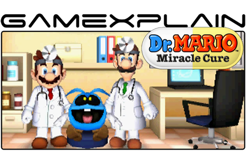 Dr. Mario: Miracle Cure - Game & Watch (Video Preview ...