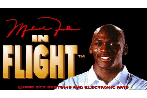 Michael Jordan in Flight gameplay (PC Game, 1993) - YouTube