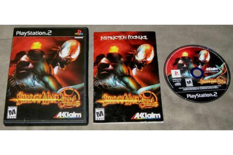Shadow Man: 2econd Coming (Sony PlayStation 2) Complete w ...