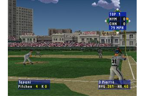 High Heat Baseball 2000 Download (1999 Sports Game)