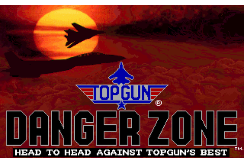 Top Gun: Danger Zone Screenshots for DOS - MobyGames