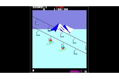 Arcade Archives ALPINE SKI Game | PS4 - PlayStation