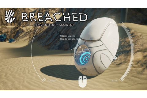 Breached Gameplay - Drone Survival in Space? - Breached ...