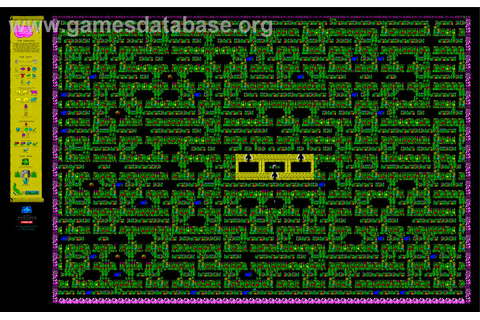 Sabre Wulf - Amstrad CPC - Games Database