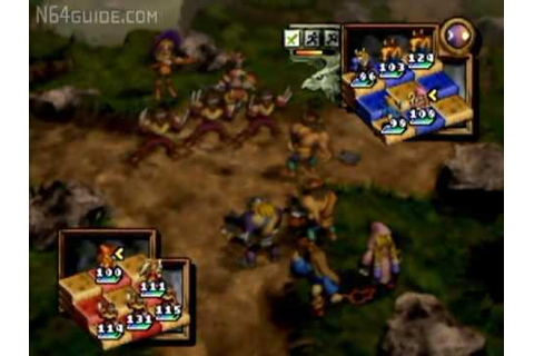 Ogre Battle 64: Person Of Lordly Caliber - N64 Gameplay ...
