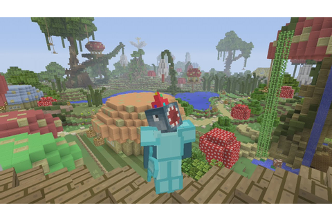 Minecraft Xbox - Hunger Games - Enchanted Kingdom - YouTube