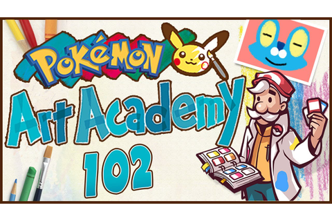Pokémon Art Academy - Extracurricular Activity! - YouTube