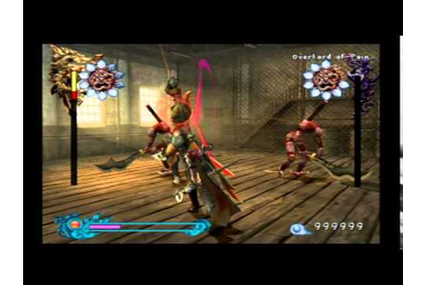 Bujingai: The Forsaken City (PS2): Sword Fights Part 1 ...