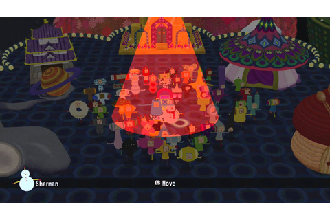 Beautiful Katamari - Extras - All Cousin Dance [HD] - YouTube