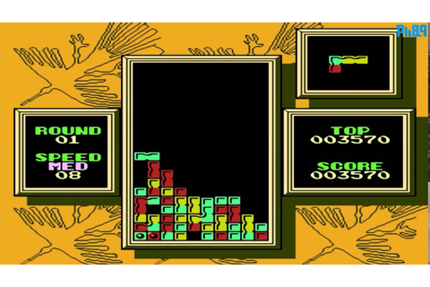 Tetris 2 (1993) NES Gameplay [Nostalgia] - YouTube