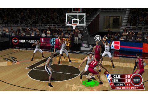 NBA 08 Game | PSP - PlayStation