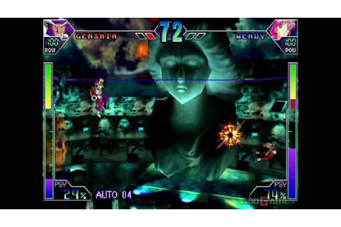 Psychic Force 2012 - Gameplay Dreamcast HD 720P - YouTube