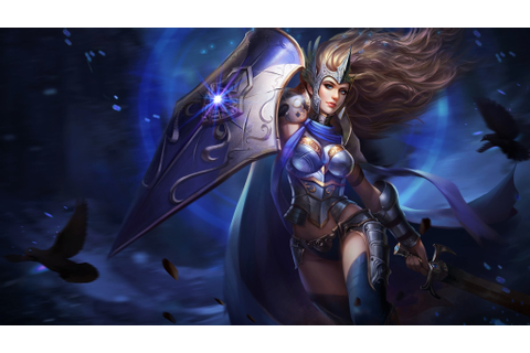 2048x1152 Fantasy Warrior Girl With Shield And Sword ...
