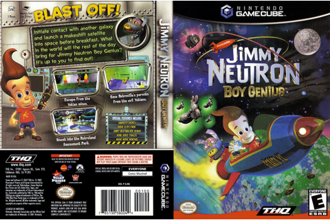Jimmy Neutron Boy Genius ISO