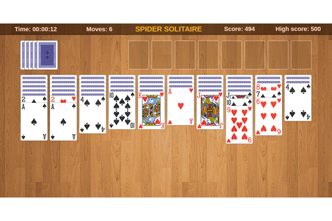 Spider Solitaire: free online card game, play full-screen ...