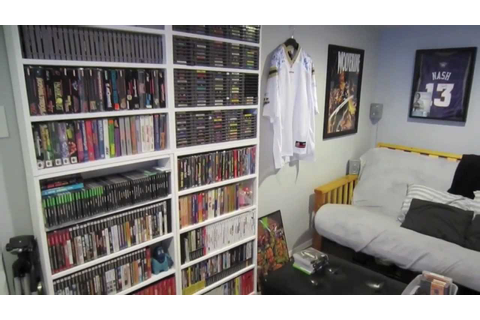 Video Game Room Tour 2012 - Thriftdweller - YouTube