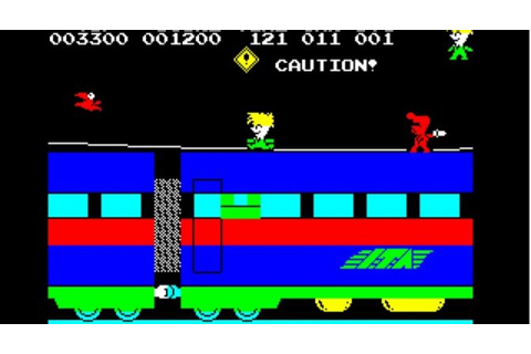 Stop the Express for ZX Spectrum by Sinclair / HudsonSoft