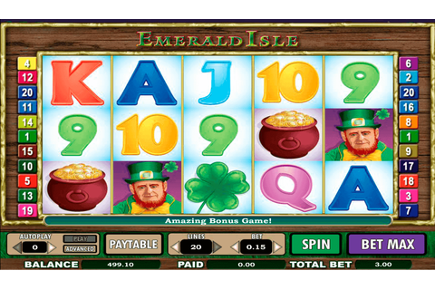 Emerald Isle Slot Machine Online Play FREE Emerald Isle ...