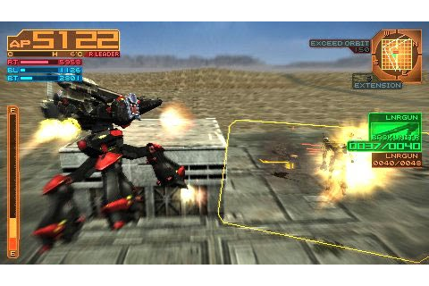 Download Armored Core Silent Line PSP iso cso - SenpaiGame