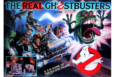 The Real Ghostbusters First Merchandise Wave ...