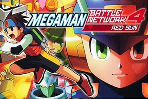 Symbian Games: Megaman: Battle network 4. Red sun